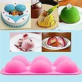 DIY Backformen-Set Silikon Form für Kuchen Dekoration Jelly Pudding Candy