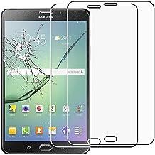 ebestStar - para Samsung Galaxy Tab S2 8.0 SM-T710, SM-T715 [: 198.6 x 134.8 x 5.6 mm, pantalla 8''] - Lote x2 Vidrio Templado - Cristal protector contra rotura y rayas