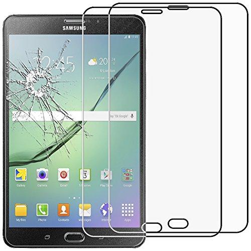 ebestStar - Compatibile x2 Vetro Temperato Samsung Galaxy Tab S2 8.0 SM-T710, SM-T715 Protezione Schermo Pacco x2 Pellicole Anti Shock, Anti Rottura Anti graffio [Apparecchio: 198.6x134.8x5.6mm 8.0']