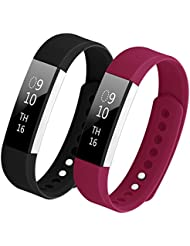 Bepack für Fitbit Alta HR Armband,TPU Soft Silikon Sportarmband Uhrenarmband für Fitbit Alta and Alta Heart Rate Fitness Wrist Band