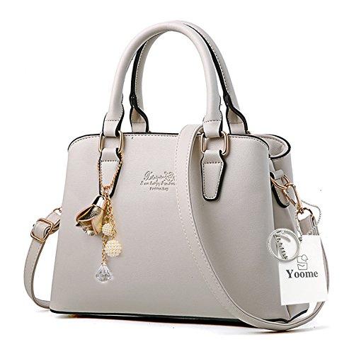 Borse da telaio Yoome per le donne in vendita Borse eleganti in borsa in pelle in pelle per le donne - rosa Crema