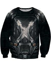 Sudadera Sweater negro estrella difuminada MV-MA040