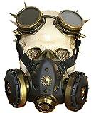 Punk Familie Männlich und Weiblich Halloween Steampunk Gas Maske Einheitsgröße Bronze