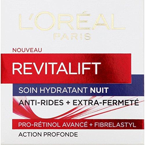 L'Or{al - Soin hydratant nuit, anti-rides + extra-fermet{ - Le pot de 50ml - (pour la quantité plus que 1 nous vous remboursons le port supplémentaire)