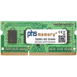 PHS-memory 4GB RAM mémoire pour ASUS ROG G750JZ-T4148H DDR3 So DIMM 1600MHz PC3L-12800S