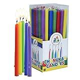 45Fur Chanukka–Mix colori per candelabro candele per Chan ukkah (Hanukkah Menora)