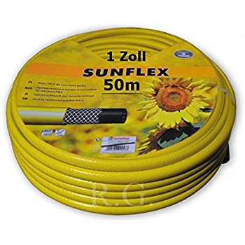 Professioneller PVC-Gartenschlauch mit NTS-Plus® Technologie 25 Meter 1//2 Zoll