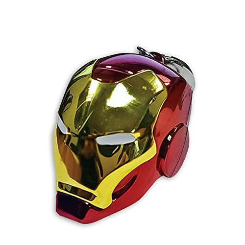 Marvel Heros Schlüsselanhänger Iron Man Helm Metallic Anhänger