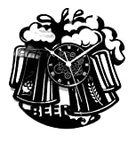 Instant Karma Orologio in Vinile da Parete Disco LP 33 Giri Idea Regalo Vintage Handmade - Bar Barman Bar Man Cocktail - Beer Birra