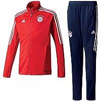 Adidas FCB TRG Y Chándal con diseño FC Bayern De Múnich, niños, Rojo (rojfcb/Blanco), 176