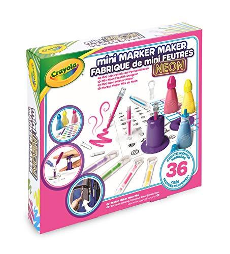 Crayola 74-7263-e-000Mini Duft Marker Maker, Neon