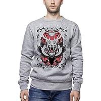 Three Monkeys Animal Mix Animals Collection Men's Unisex Sweatshirt