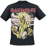 Iron Maiden Killers Camiseta Negro L
