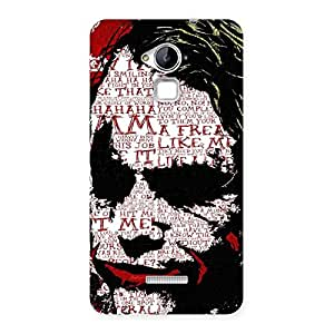 Premium Premier Psyco Typo Multicolor Back Case Cover for Coolpad Note 3