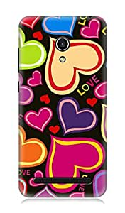 Asus Zenfone 6 3Dimensional High Quality Designer Back Cover by 7C
