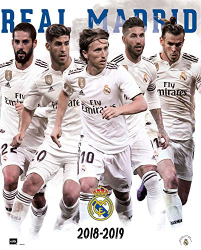 Erik Editores Mini póster Real Madrid
