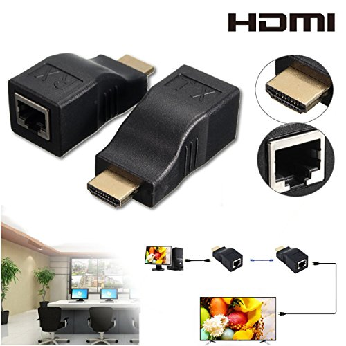 2pcs-hdmi-to-rj45-network-lan-ethernet-cable-extender-over-by-cat-5e-6-hd-1080p-3d