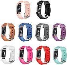gincoband 10piezas Reemplazo Bandas para Fitbit Charge 2Fitness muñequera con Metal Cierres