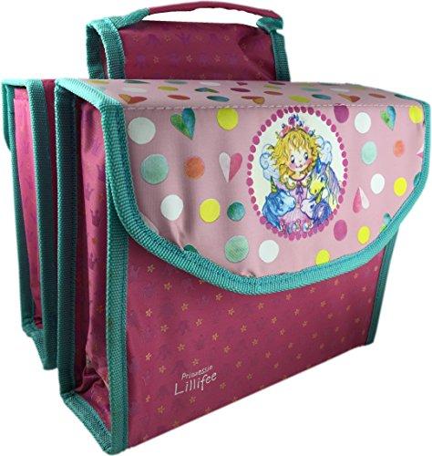 Kinder-Fahrradtasche Gepäckträgertasche Prinzessin Lillifee - 01170317