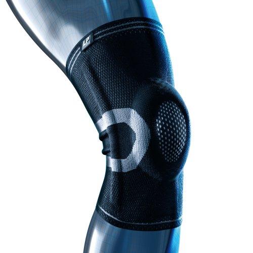 LP Support X-TREMUS 170XT Kompressions Kniebandage - Knie-Stütze - Knieschutz, Größe:XXXL, Farbe:schwarz