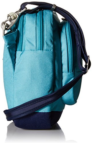 Pacsafe Citysafe LS75antifurto a tracolla, borsa da viaggio, Lagoon (blu) - 20305 Lagoon