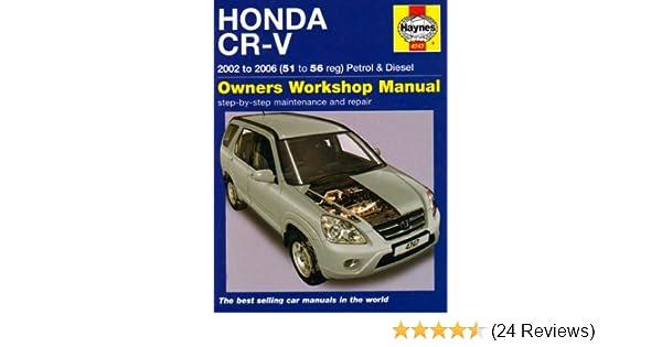 honda crv 2002 t0 2006 repair manual