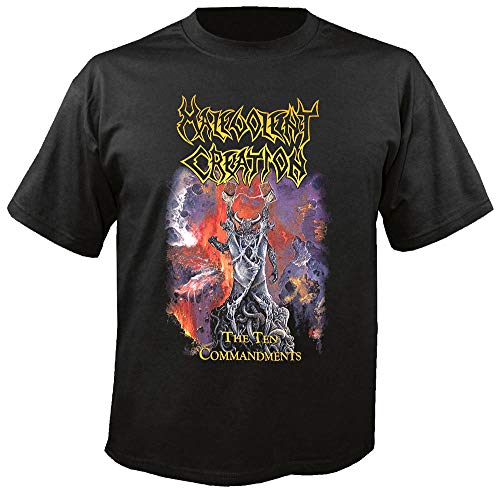 MALEVOLENT Creation - The Ten Commandments - T-Shirt Größe XXL