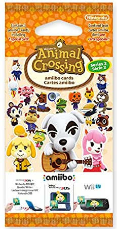 Animal Crossing: Happy Home Designer Amiibo Cards Pack - Series 2 (Nintendo 3DS/Wii U)