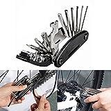 Boonor Fahrrad-Multitool, 16-in-1 Fahrrad Werkzeug Multifunktionswerkzeug fahrrad reparatur set...
