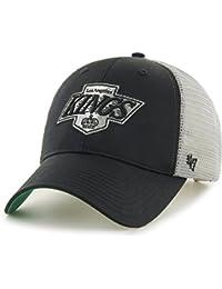 662cd790873fe8 '47 Brand Los Angeles Kings Branson MVP Trucker Cap Black · '