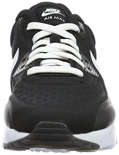 Nike Air Max 90 Ultra Se (Gs), Chaussures de Running Entrainement Garçon Blanco (Black / White)
