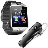 Lambent Dz09 Smartwatch with SIM Slot, Memory Card Slot and Camera & K1