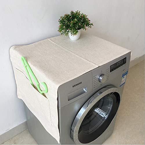Preisvergleich Produktbild YAC Draussen Möbel Schutzhülle,  Modern Einfach Baumwolle und Leinen Waschmaschine abdecken Wasserdicht Farbecht 60 * 145cm mehrere Farbe, F