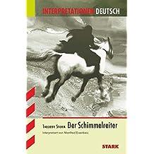 Interpretationen Deutsch - Storm: Der Schimmelreiter