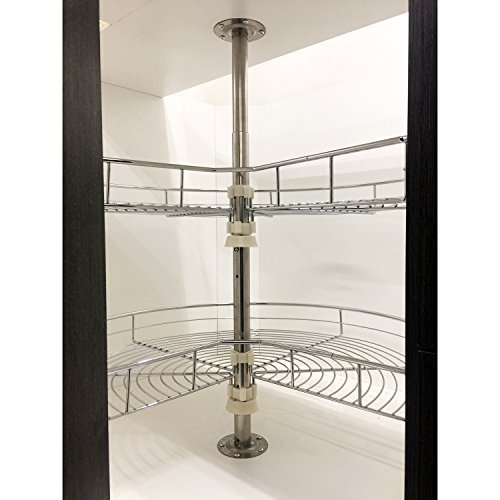 Dowell 4001 270 Base Corner Lazy Susan ,Double Rack by Dowell