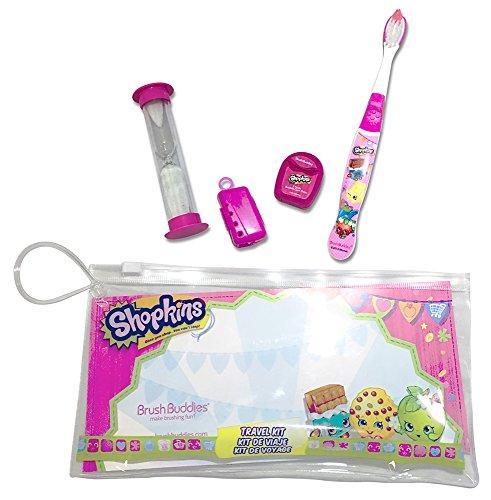 BRUSH Buddies Shopkins Travel Kit (Gum Bubble Kit)