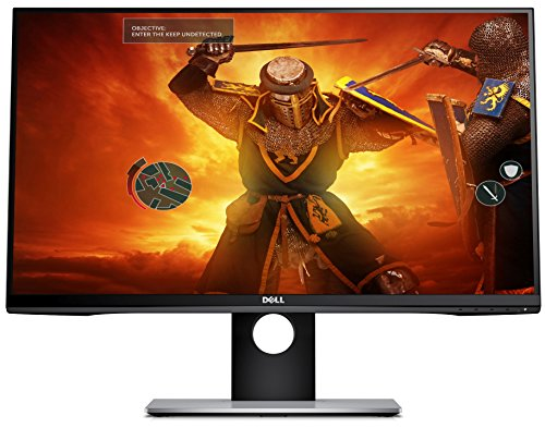 Dell S2716DG 27-inch TN Gaming Monitor (1 ms Response Time, QHD 2560 x 1440 at 144 Hz, Nvidia G-Sync HDMI/DP/USB) - Black