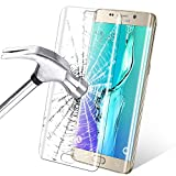 Infreecs Galaxy S6 Edge Plus Schutzfolie [Vollständige Abdeckung], Panzerglas [Klar HD Ultra] [Anti-Kratzer] Anti-Fingerabdruck Displayschutz Für Galaxy S6 Edge Plus, Transparent - 1 Stück