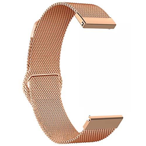16bd18736400 Ruentech - Correa de Repuesto para Reloj Inteligente Fossil Gen 4 Q Venture  HR