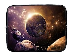 meSleep Planet Laptop Sleeve with Webbing Handles