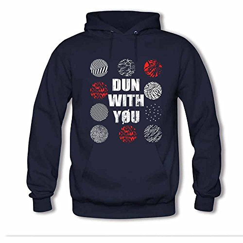 Women's Twenty One Pilots Dun With You Soft Cotton Hoodies XL