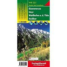 Carte de randonnée : Eisenwurzen Steyr Waidhofen - Y Hochkar, mit touristischen Informationen, N° 51