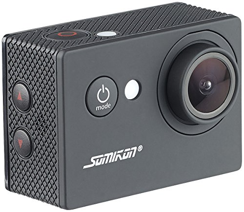 Somikon Action Kamera: HD-Action-Cam DV-1212 mit 720p-Auflösung, Unterwasser-Gehäuse, IP68 (Digi Cam)