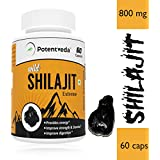 Potentveda Shilajit Extract Gold Plus For Extra Strength & Stamina Men - 60 Capsules (Pack Of 1)