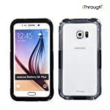 Galaxy S6 Edge Plus Coque Imperméable, iThroughTM Galaxy S6 Edge Plus Etui Imperméable, Etui D'antipoussière, D'antineige, D'antichoc, Etui Couverture de Protection pour Galaxy S6 Edge Plus