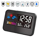 BonZeal Thermometer Hygrometer Smart Backlight Function Easy to Read Digital LED Display Weather