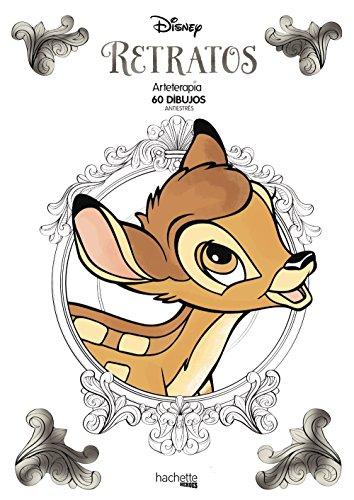 Arteterapia. Retratos Disney (Hachette Heroes - Disney - Arteterapia)