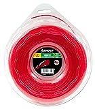 Arnold Recortadora de hilo AF 3,10, 2 mm x 97,5 m, redondo, girar, rojo, 1082-U5-2098