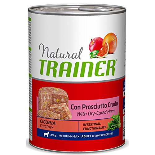 Trainer Natural Dog Adult Medium Maxi Prosciutto e Cicoria 400 GR