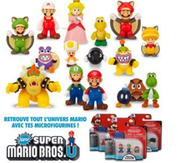 Figura Super Mario micro serie 1 NOVEDAD!! 1